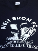 WEST BROM FC T-SHIRT (Black)
